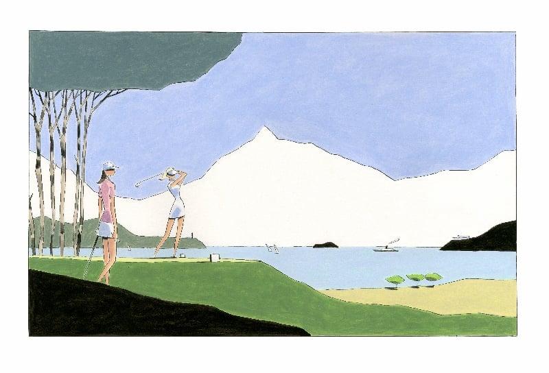 golf par fran ois avril la s rie des 7 images compl te. Black Bedroom Furniture Sets. Home Design Ideas